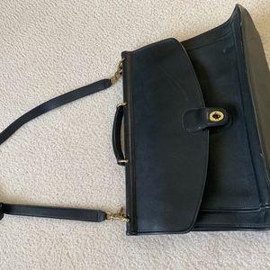 Vintage Coach Briefcase Mint Unisex